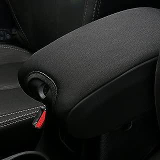 Neoprene Center Console Cover Armrest Pad For Jeep Wrangler JK Sahara Sport Rubicon X & Unlimited 2011 2012 2013 2014 2015 2016 2017