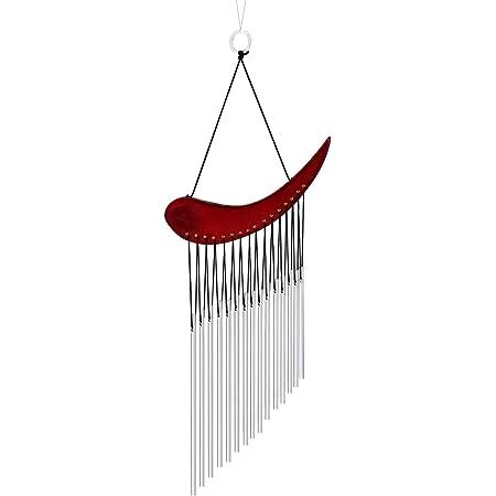 Mienloco Realizzato a Mano per Decorare la casa e Il Giardino Scacciaspiriti in Legno di Cocco e bamb/ù