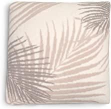 Barefoot Dreams CozyChic Palm Leaf Pillow Cover with Insert, Home Decor Decorative Throw Pillows, Retro Decorations for Co...