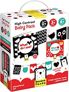 High Contrast Baby Pack 0+/3m+/6m+