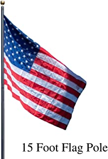 15 flagpole
