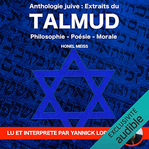 Anthologie Juive - Extraits du Talmud audiobook cover art