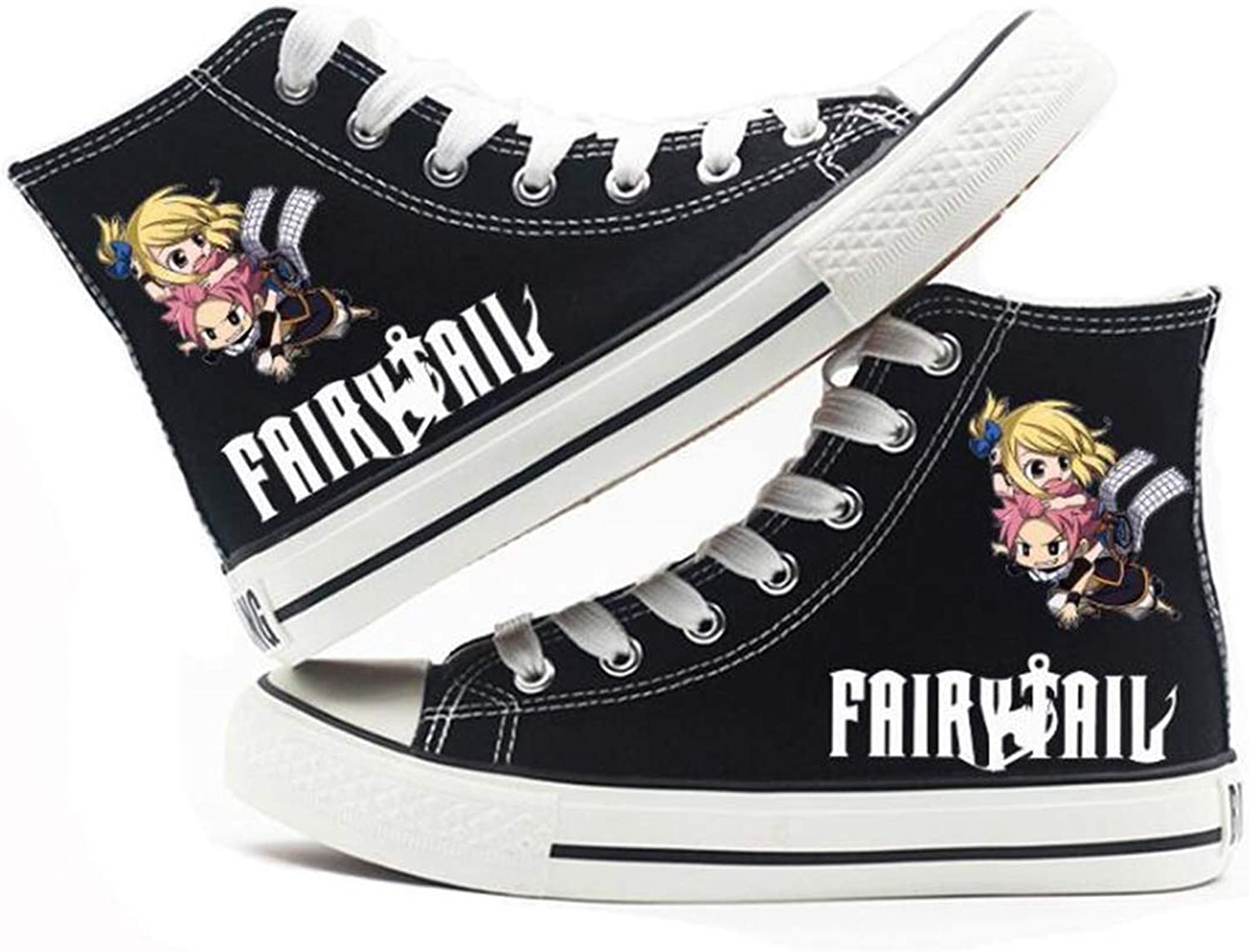 GO2COSY Anime Fairy Tail Cosplay Natsu Dragneel Sneakers Canvas shoes Womens' Size