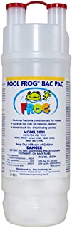 Pool Frog Bac Pac Trichlor Model 5051 Cartridge Use With Series 5100 5200 5400 5600 & 6100