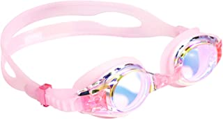 aegend Kids Goggles, Swim Goggles for Kids Age 4-16 Little Boys and Girls Youth Swim Goggle, Clear Vision, Soft Silicone, No Leak, UV Protection, Anti-Fog, Free Protection Case