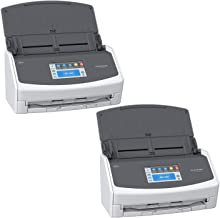 $799 » Fujitsu ScanSnap iX1500 Color Duplex Document Scanner with Touch Screen for Mac and PC, White Bundle (2-Pack)