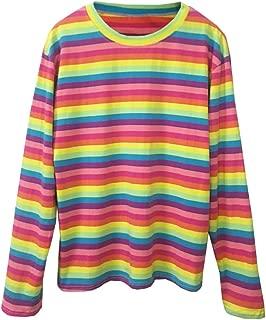 Best rainbow striped shirt long sleeve Reviews