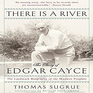 There is a River audiobook cover art