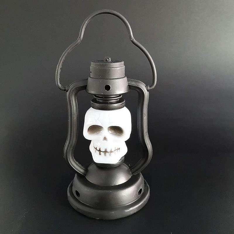 Tasefre Halloween Portable LED Night Light Colorful Kerosene Lamp Decorative Props Night Lights
