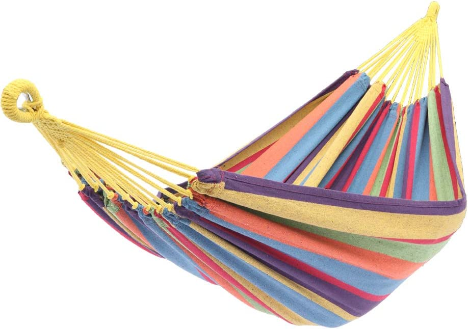 OFFicial shop Memphis Mall SQINAA Portable Hanging Hammock Rope G Swing Bed Fabric Sleeping