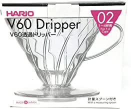 Coador de Café em Acrílico Transparente Hario V60-02