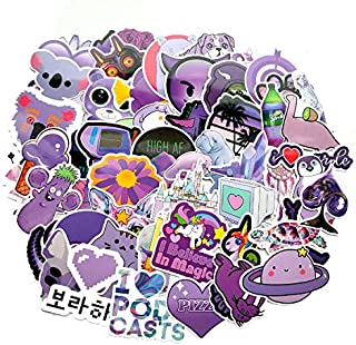 A Sticker Shop 61pcs Cute Ocean/Beach Trendy Vinyl Stickers Pack for for Laptop Hydro Flask Water Bottles Phone Ipad Luggage. Asthetic Decals for Teens College Students. Extra Durable 100% Vinyl