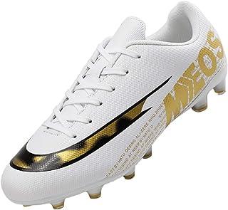 LIANNAO Men's Football Boots Boy's Soccer High-Top Spikes Soccer Football Shoes Kids Soccer Boots Cleats Outdoor Professio...