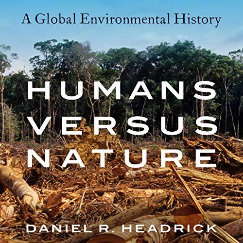 Humans versus Nature audiobook cover art