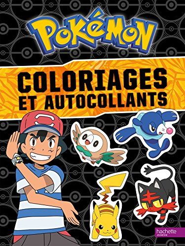 Pokémon : Coloriages et autocollants