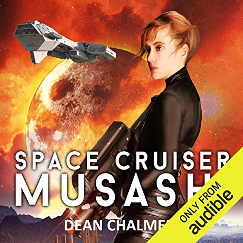 Space Cruiser Musashi audiobook cover art