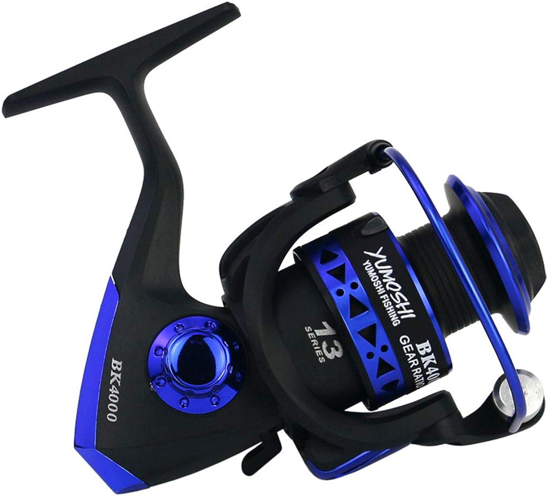 13BB Fishing Reel BK10007000 5.1 1 Foldable Arm Rocker Spinning Reel Lightweight Rear Drag Spool Fish Spinning Wheels