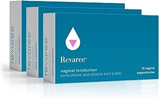 Bonafide - Revaree Hyaluronic Acid for Vaginal Dryness – Non-Hormonal, Paraben-Free (30 Inserts)