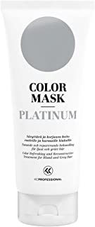Color Mask Platinum Reconstructive Treatment - Toning Conditioner for Platinum Blonde and Silver Hair - 6.76 oz