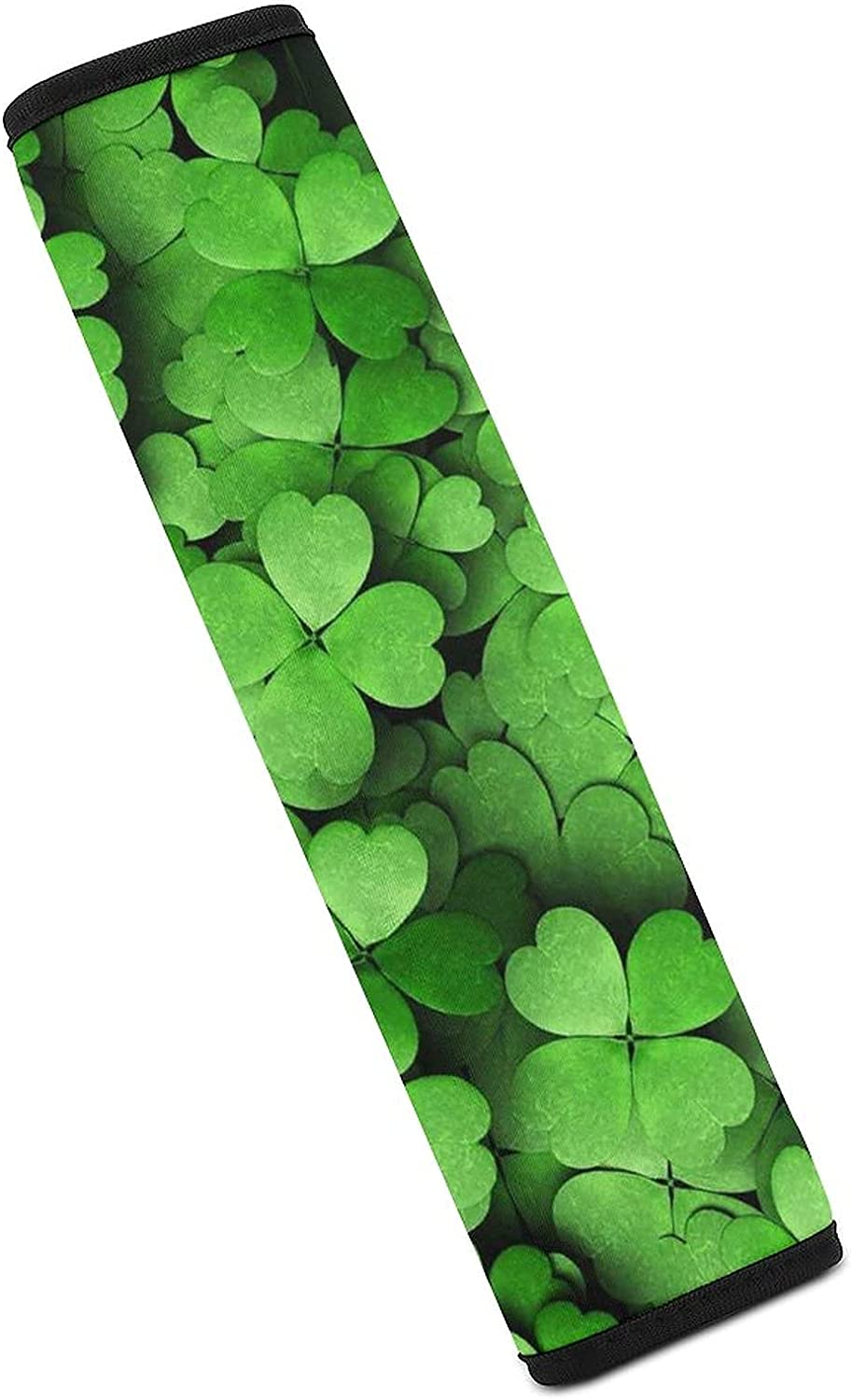 St. Patricks Purchase Day Green 4 Leaf Clovers Seat Covers Car Direct store Belt