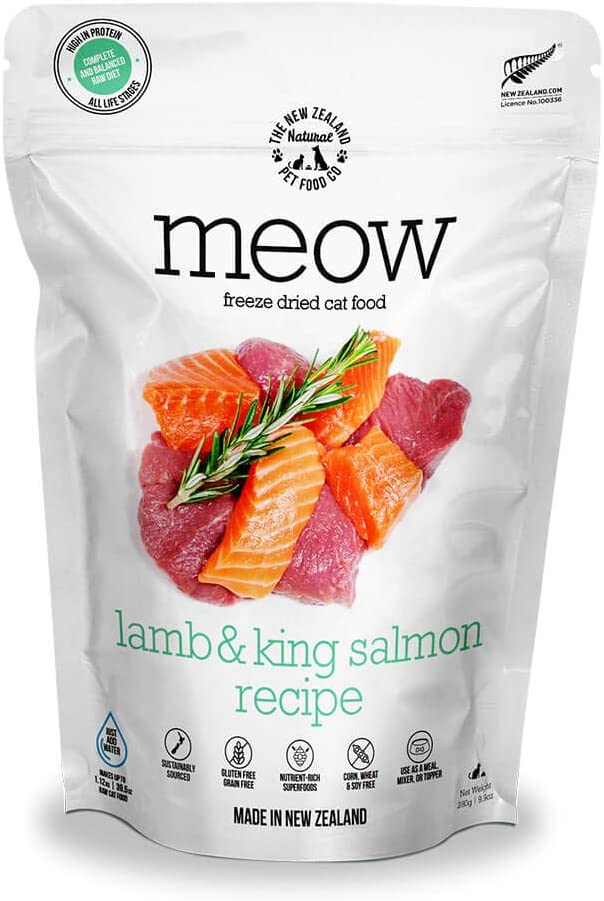 Meow Wild half Venison Freeze Dried Raw Topper Cat o Deluxe Mixer or Food