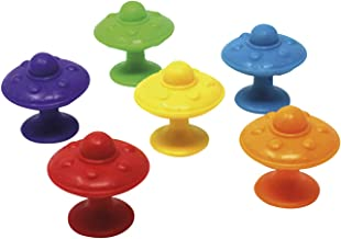Learning Resources LSP5550-UK Super Suction Space Saucers Set (30 Piece)
