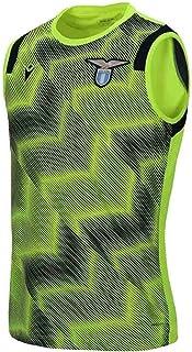 Macron 2020-2021 Lazio Sleeveless Training Shirt (Yellow)