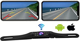$59 » Casoda WiFi Long License Plate Backup Camera for iPhone and Android, Strong Signal Smooth Video Image Never Freezing Clear...