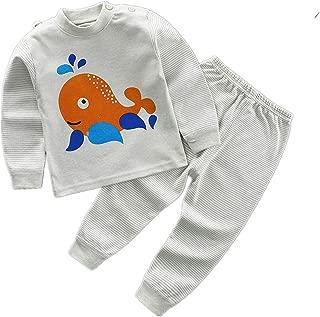 Girls/Boys Toddler Cartoon Long Sleeve Pyjamas Top + Pants