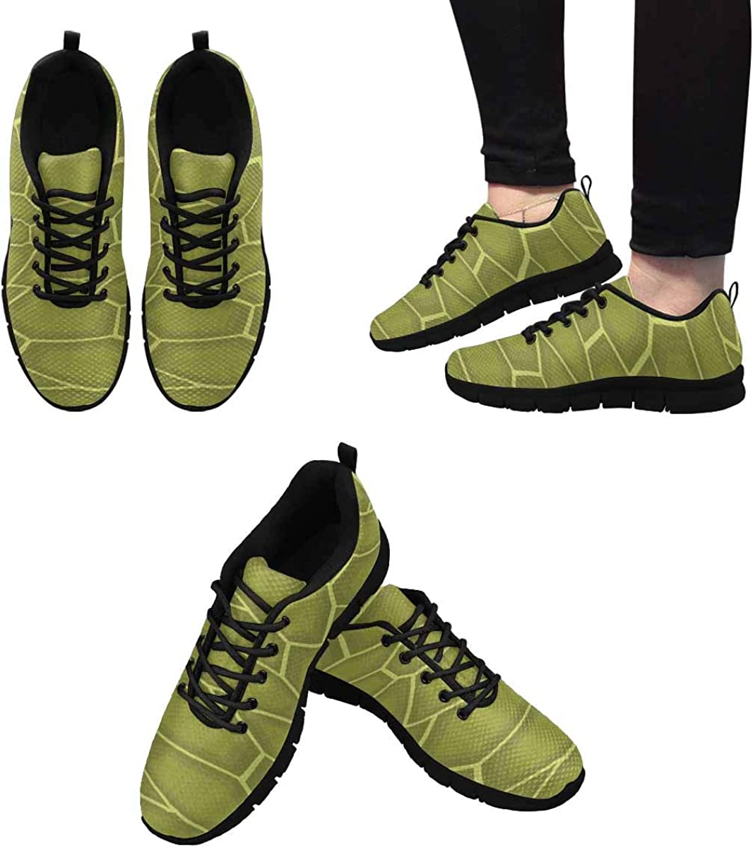 InterestPrint Cute Funny Turtles Women's Breathable Non Slip Sneakers
