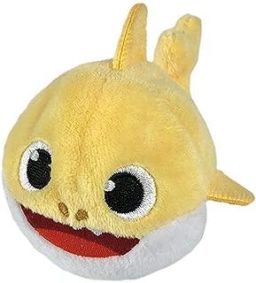 Pinkfong Baby Shark Mini Plush (Baby Shark) - Fun Size Baby Shark Stuffed Beanie from Hit Song Official Baby Shark Stuffed Animal Toy