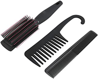 Styling Tools Wide Tooth Comb, Hairdressing Anti-Static Hair Comb, High-quality Home for Barber Salon Professional Use(3-p...