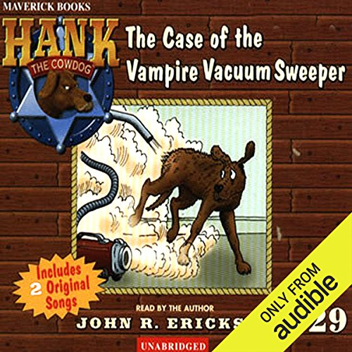 The Case of the Vampire Vacuum Sweeper copertina