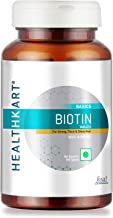HealthKart Biotin Maximum Strength for Hair Skin & Nails-10000 mcg for , 90 tablet(s) (Biotin)