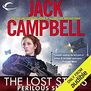 Perilous Shield: The Lost Stars, Book 2     The Lost Stars, Book 2              Written by:                                                                                                                                 Jack Campbell                               Narrated by:                                                                                                                                 Marc Vietor                      Length: 13 hrs and 24 mins     1 rating     Overall 4.0