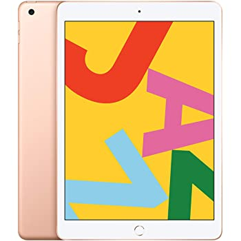 Apple iPad (10.2inch, Wi-Fi, 128GB) - Gold (Latest Model)