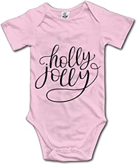KuLuKo Baby Holly Jolly Bodysuits Rompers Outfits Summer Clothes,Short Sleeve