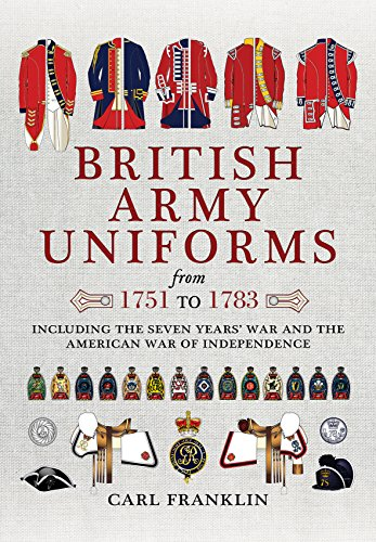 British Army Uniforms of the American Revolution 1751 - 1783