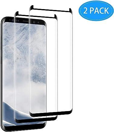 Samsung Galaxy S8 Plus Screen Protector, CBoner [2 Pack] [No Bubbles]