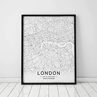 Best map of london print Reviews