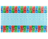 American Greetings Plastic Table Cover for Arts & Crafts, PJ Masks Party Supplies (1-Count)