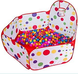 Hfyg Playpens Child Ocean Ball Pool Baby Playpens Foldable Crawling Fence with Cushion pens  Size 110CM