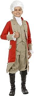 Kids British Red Coat Costume