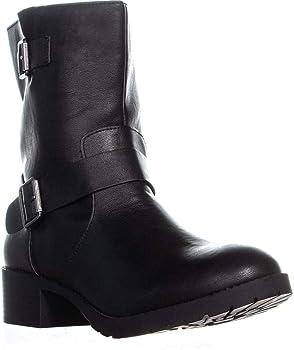 Style & Co Gianara Moto Womens Boots