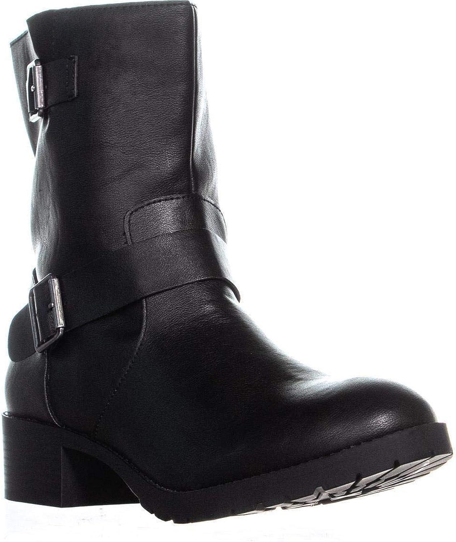 Style & Co. SC35 Gianara Mid Calf Boots, Black