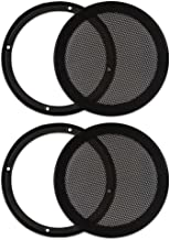 Goldwood Sound, Inc. Monitor Speaker And Subwoofer Part, Heavy Duty Steel Mesh Snap On Woofer Grills for 6.5