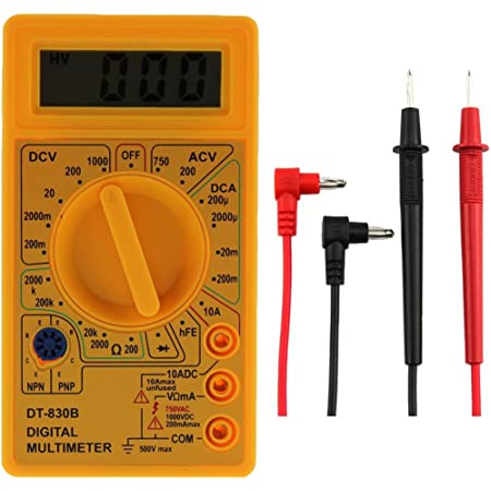 Multimeter Sodial R Elektrische Digital Multimeter Tester Checker Baumarkt