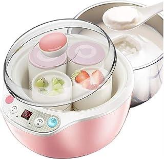 SJYDQ Accueil Yogourt Making Machine Maker Machine -Automatique yogourt 4 Verre Jars Personnaliser à Votre saveur et la de...