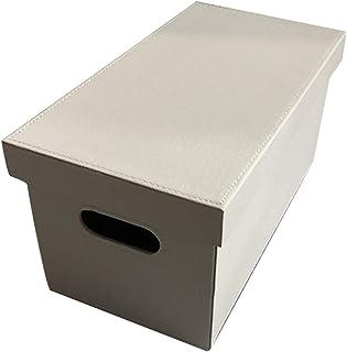 Caja de Almacenamiento de CD Blanca Soporte de exhibición de DVD para Dormitorio de Estudiantes - Caja de Almacenamiento d...