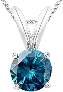 Best blue diamond necklace Reviews